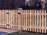 4ft wood picket