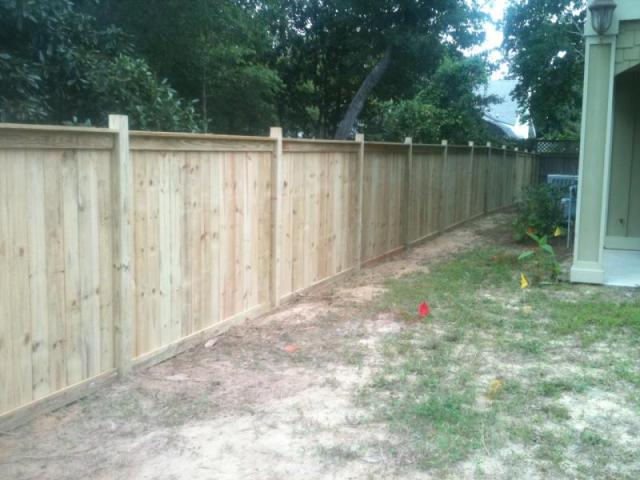 fence 6ft. 6FT WOOD PRIVACY FENCE Fence 6ft X